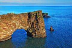 南冰岛在7月 免版税图库摄影