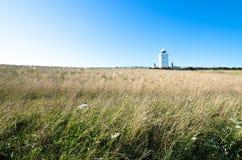 南前陆灯塔在多弗,肯特 免版税库存照片