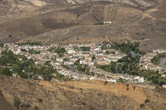 南加州山坡郊区 库存照片