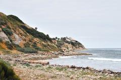 南加州沿海海滩 库存照片