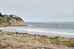南加州沿海海滩 图库摄影