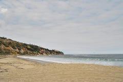 南加州沿海海滩 免版税库存图片