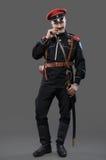 南北战争在俄罗斯,俄语南北战争1918-1922,白色卫兵, C 免版税图库摄影