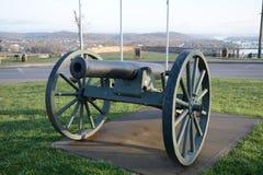 南北战争大炮 图库摄影