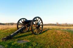 南北战争大炮 免版税库存照片