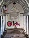 南北战争将军的坟茔 库存照片