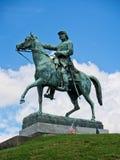 南北战争将军的2纪念碑 免版税图库摄影