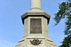 南北战争战士的纪念碑布鲁克林 库存照片