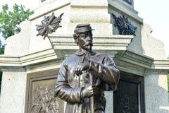 南北战争战士的纪念碑布鲁克林 免版税库存照片