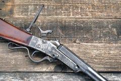 南北战争时代步枪 免版税库存照片