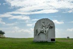 南北战争纪念碑 免版税库存照片