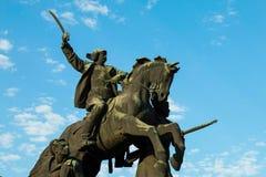 南北战争纪念碑 图库摄影