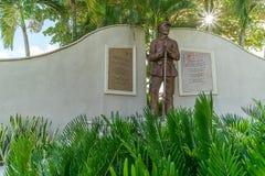 南北战争雕象-李县佛罗里达 图库摄影