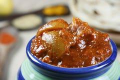 南印地安柠檬腌汁是一个辣气味强烈的腌汁 库存图片