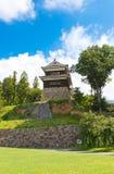 南塔楼第16个c Ueda城堡在Ueda,日本 库存照片