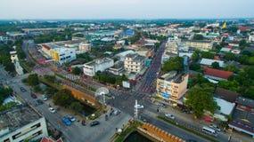 南奔,泰国12月, 07,2016 :annu的地方舞蹈家 库存照片