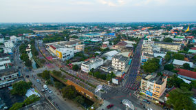 南奔,泰国12月, 07,2016 :annu的地方舞蹈家 库存图片