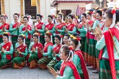 南奔,泰国- 2016年5月13日 库存图片