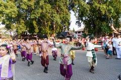 南奔,泰国- 2016年5月13日 库存照片