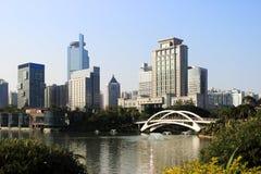 南宁国际大会和会展中心 库存照片