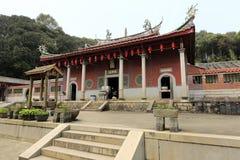南安市镇,泉州市,瓷tianzhu (天空专栏)寺庙  免版税库存图片