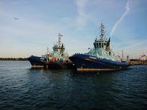南安普敦领航船 库存照片