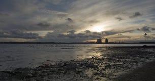 南安普敦水 库存图片