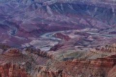 南峡谷全部的外缘 免版税库存图片