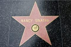 南希sinatra星形 免版税库存照片