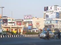 南引伸市场在德里 库存图片