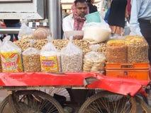 南引伸市场在德里 免版税库存照片