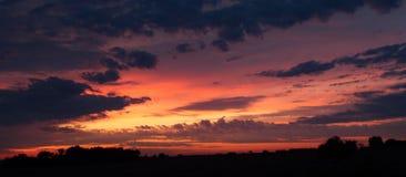 南得克萨斯地平线 图库摄影