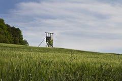 南德国农村的场面 库存照片