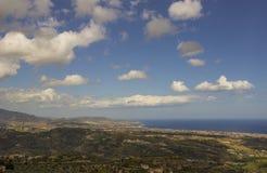 南意大利,卡拉布里亚,杰拉切的风景 免版税库存照片