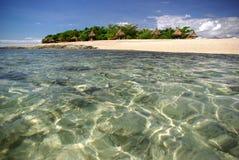 南斐济岛的海运 免版税库存照片