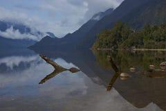南方的Carretera的湖 免版税库存图片