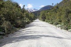 南方的Carretera,智利 库存照片