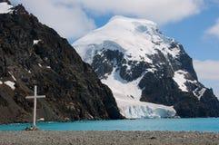 南极交叉 库存照片