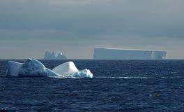 南极冰山风景 库存照片