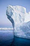 南极冰山 免版税图库摄影
