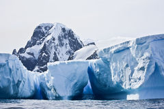 南极冰山 库存图片