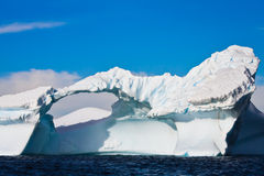 南极冰川 免版税库存图片