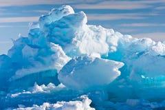 南极冰川 免版税图库摄影