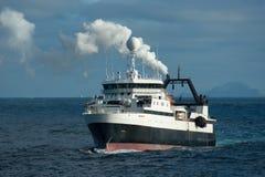南极区小船俘获器 免版税库存图片