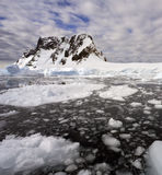 南极南极洲海湾半岛pleneau 免版税库存照片