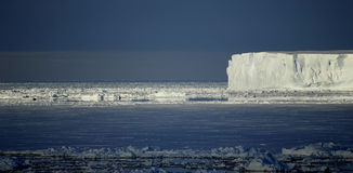 南极心情 库存照片