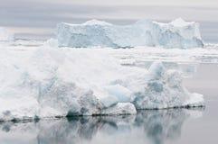 南极横向 库存照片