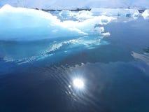 南极横向 免版税库存图片
