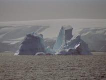 南极洲冰山冰 免版税库存照片
