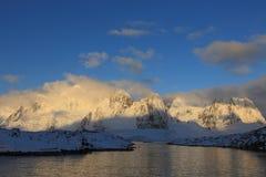 南极洲横向 免版税库存照片